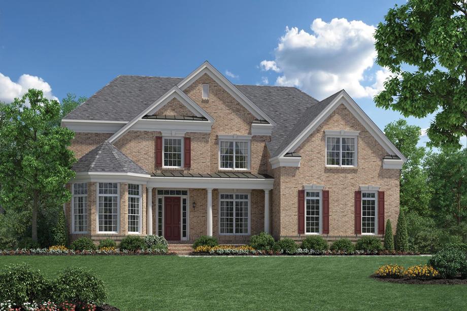 Estates at mill creek ridge the duncan home design for Hudson home designs