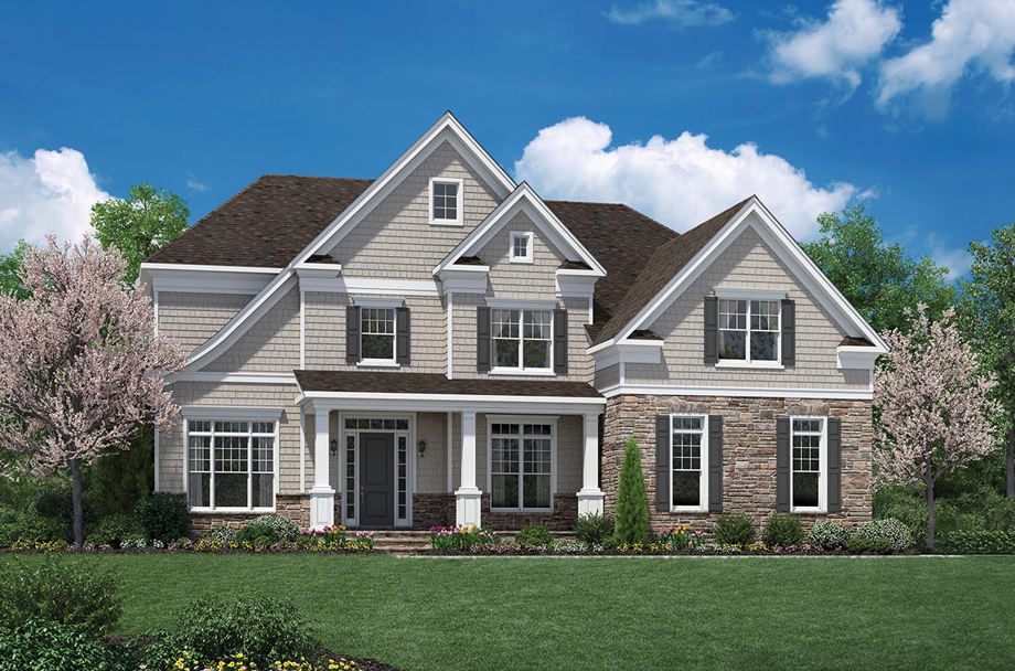 Steeplechase at branchburg the hudson home design for Hudson home designs