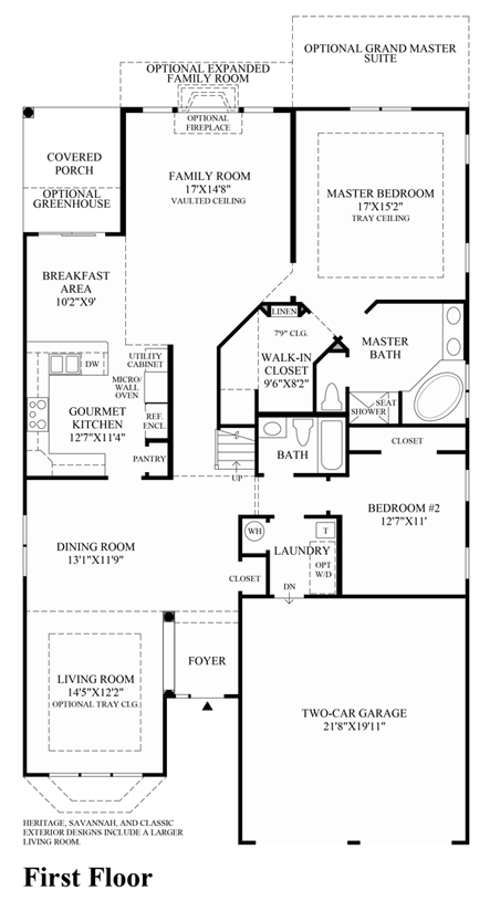 Huntley - 1st Floor