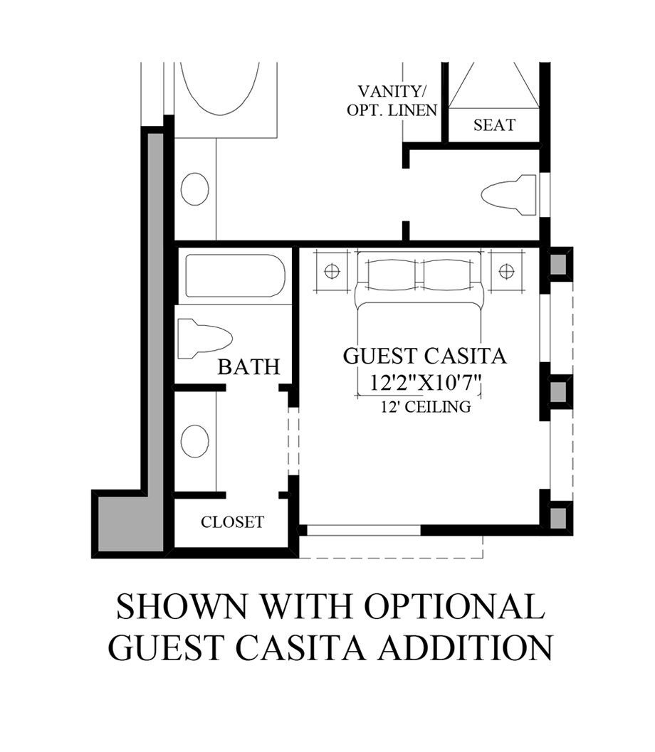 Toll brothers at escala quick delivery home ibiza tuscan for Tuscan home plans with casitas