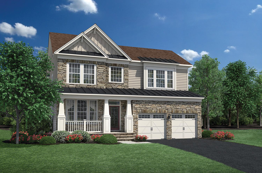Dominion Valley Country Club Carolinas The Richmond Ii Home Design