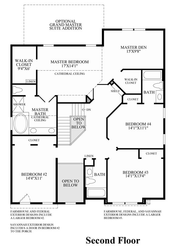 Dominion valley country club carolinas the richmond ii for Dominion homes floor plans