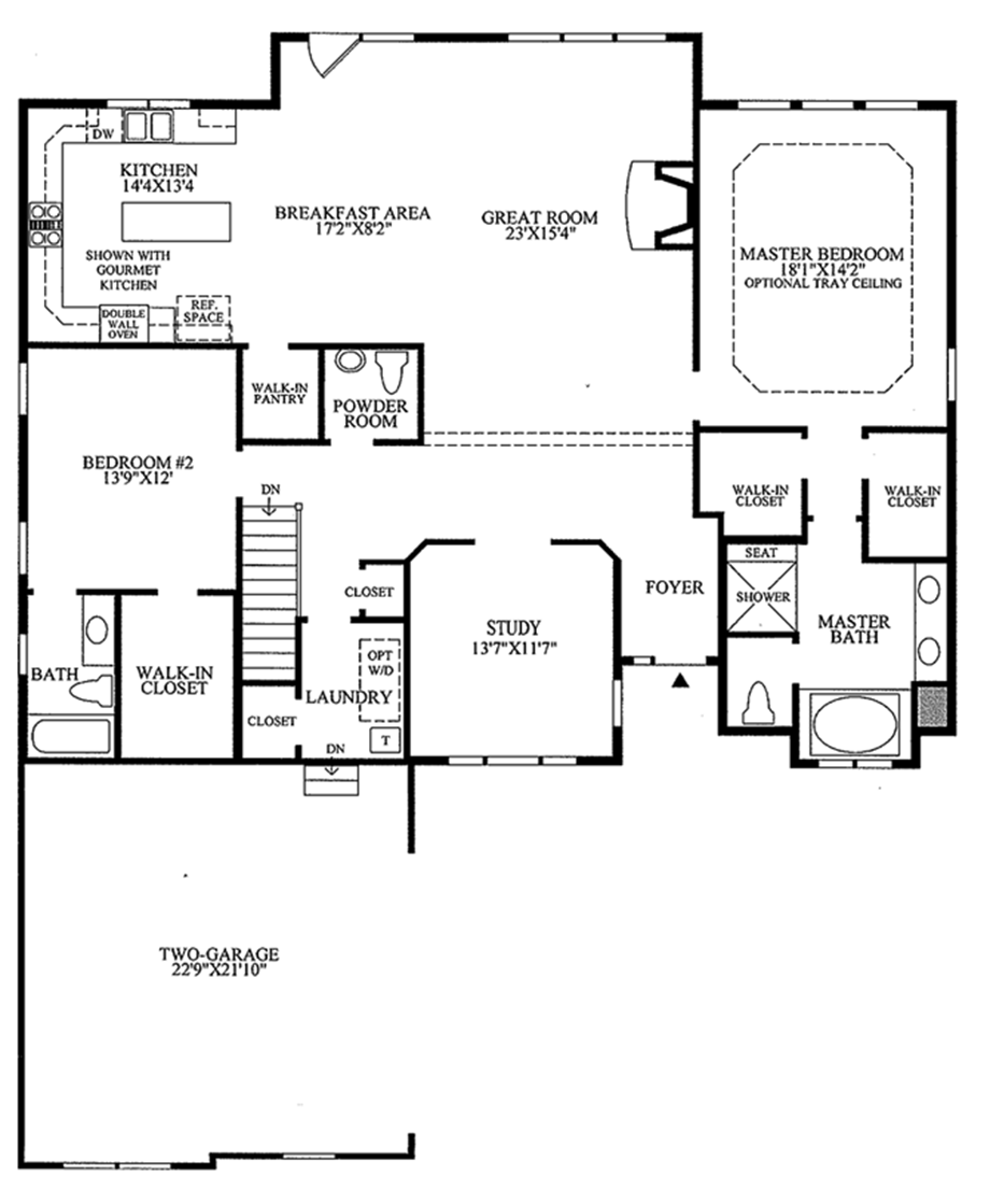 Regency at the woods of south barrington quick delivery for Regency house plans