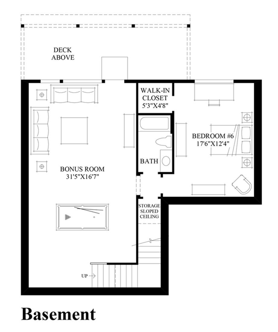 Talon ridge the jefferson with basement home design for Design your own basement floor plans