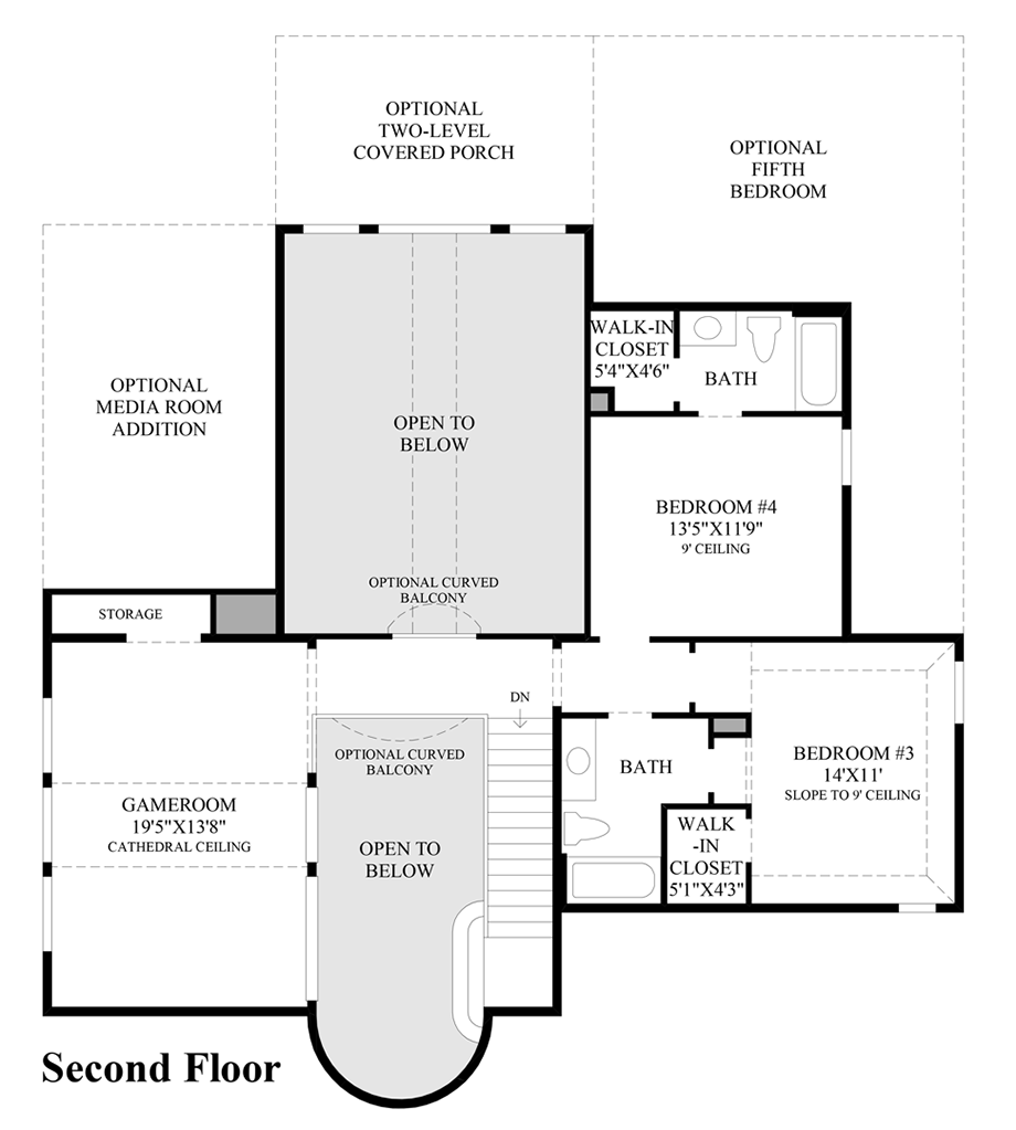 Northgrove at spring creek executive collection the for Juniper floor plan