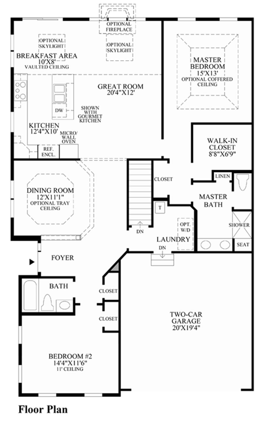 Regency at prospect the kimberton home design for Regency house plans