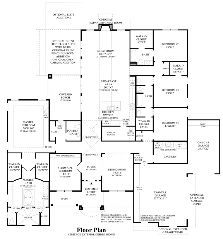 Village house floor plan house plans Village house plan