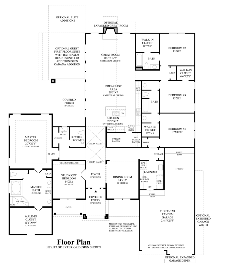 Design Your Own Home Toll Brothers: The Kingston Home Design