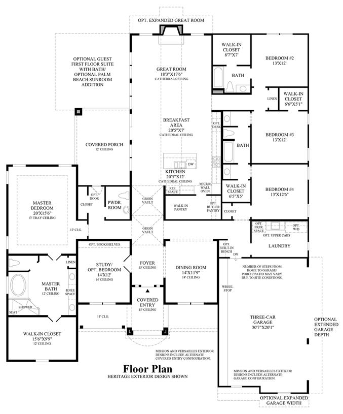 Southlake Meadows The Vallagio Home Design