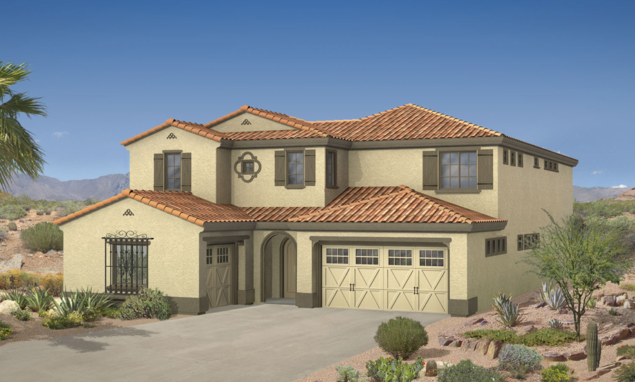 Windgate ranch scottsdale cassia collection the la for Ranch model homes