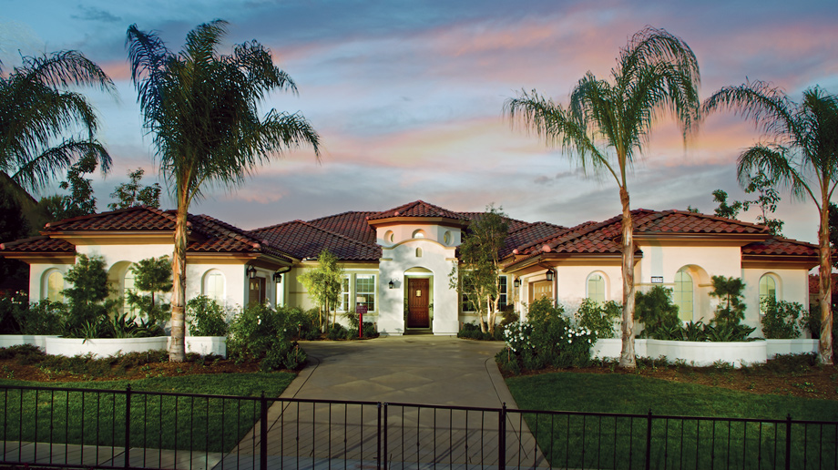 La morra at masters at moorpark country club luxury new for Luxury single story homes