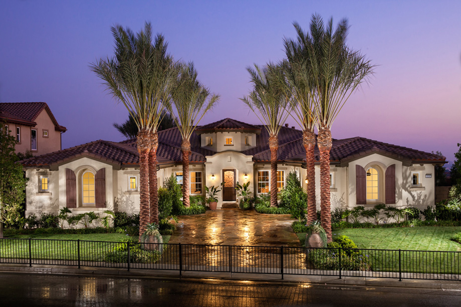 La morra at masters at moorpark country club luxury new for Luxury one story homes