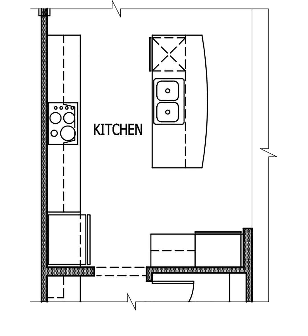 Optiona Chef's Kitchen  Floor Plan