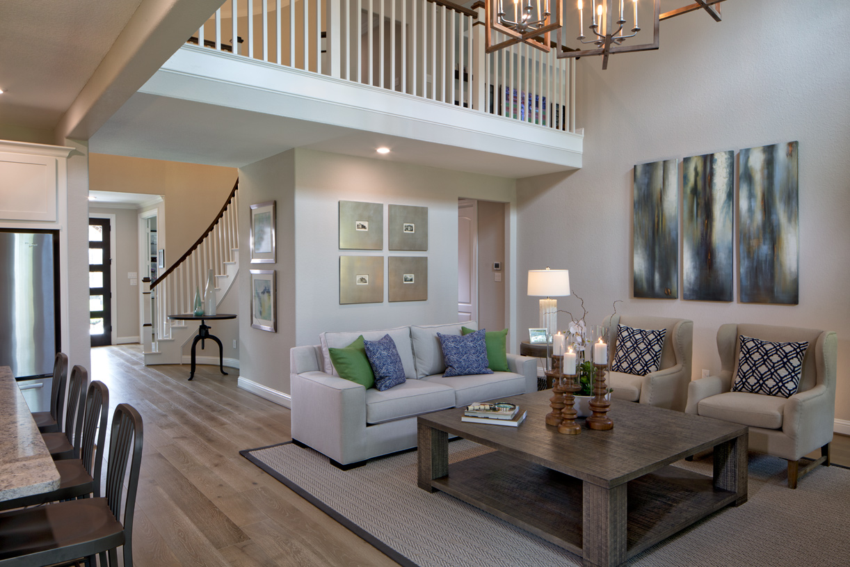 Desirable great room