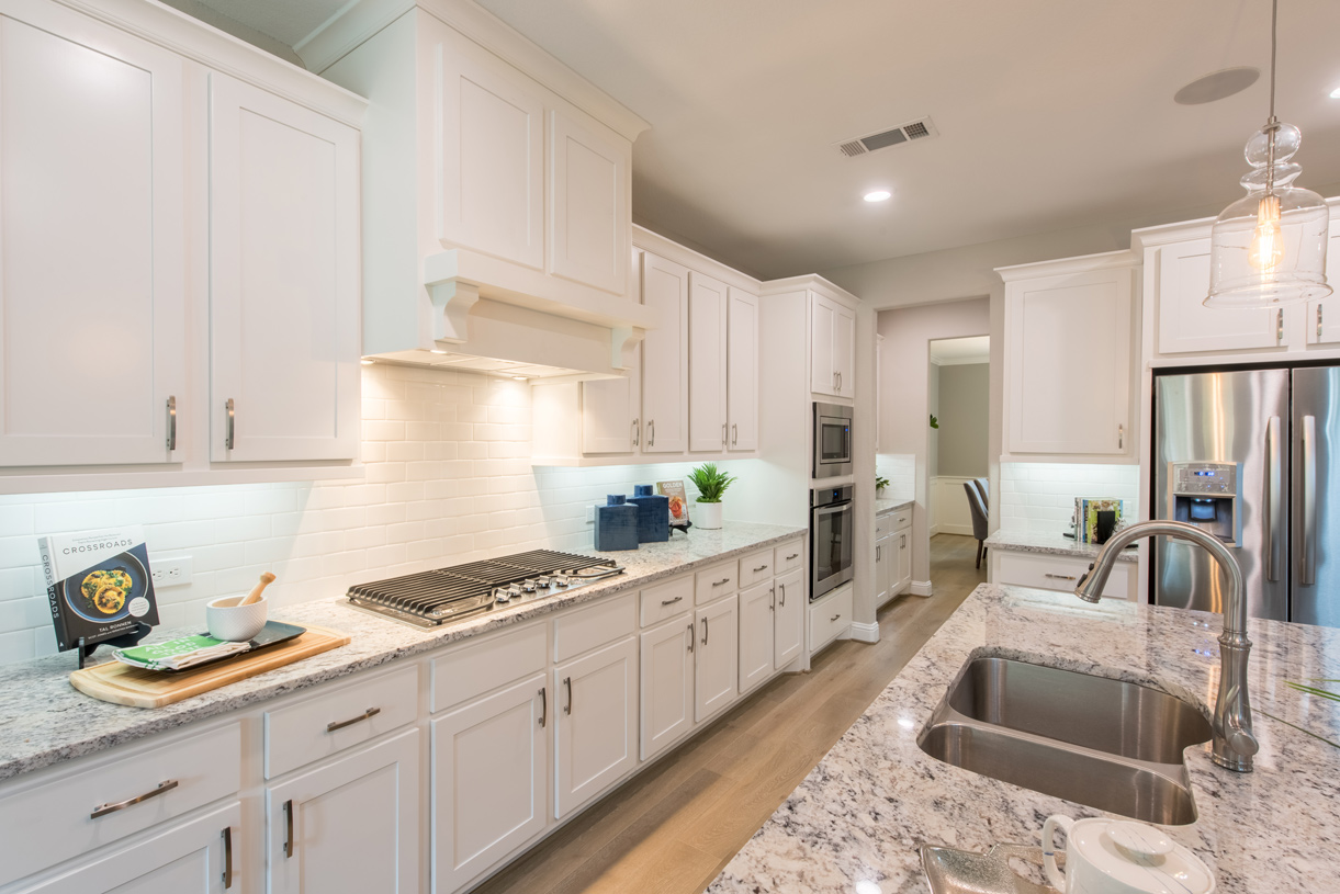 Well-equipped kitchen makes cooking a breeze