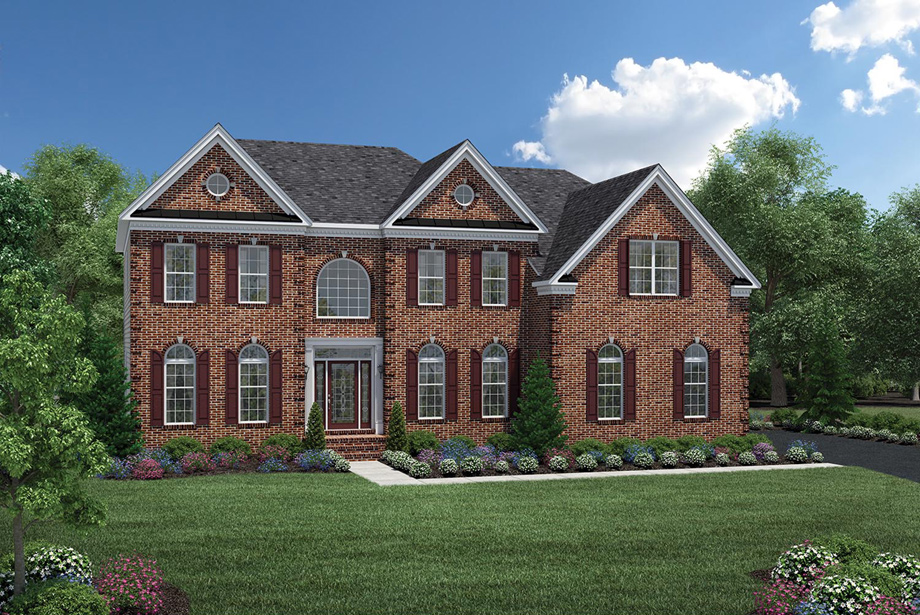 toll brothers at oak creek the malvern home design