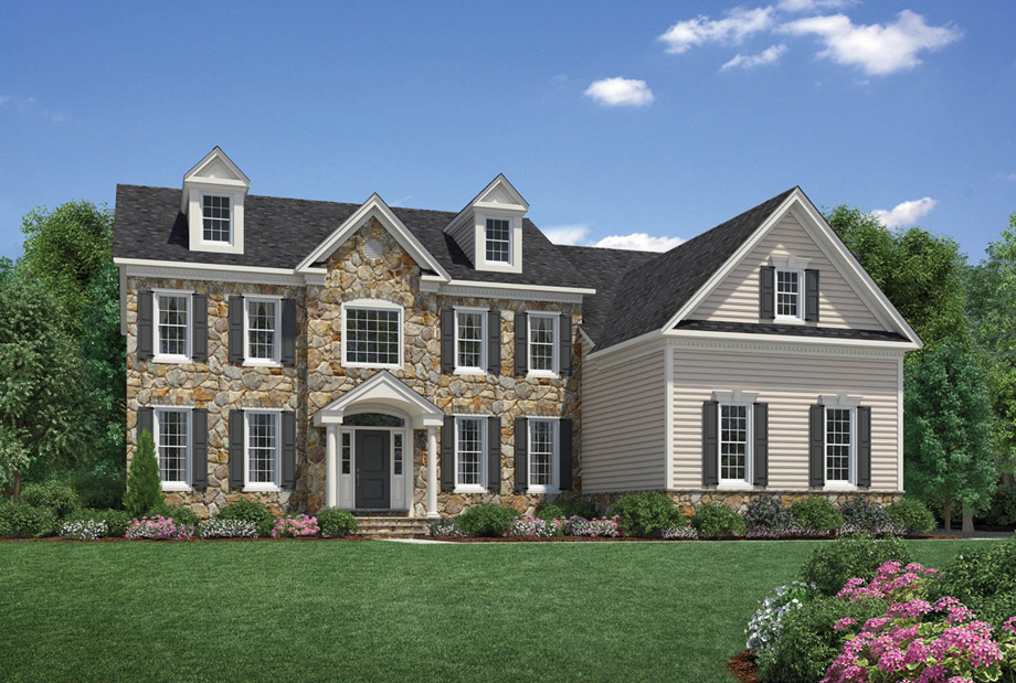Liseter the bryn mawr collection the langley ii home for Langley home