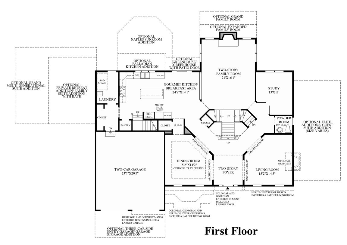 100 Center Hall Colonial Custom Built Quality 6 Br