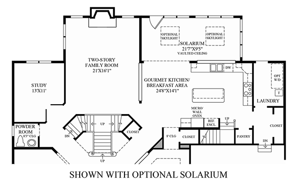 Optional Solarium