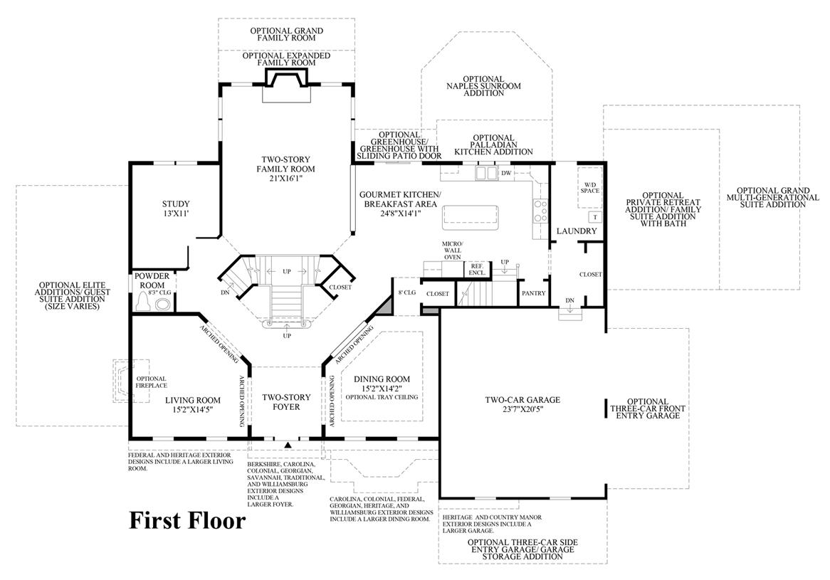 the estates at cedarday the stansbury home design