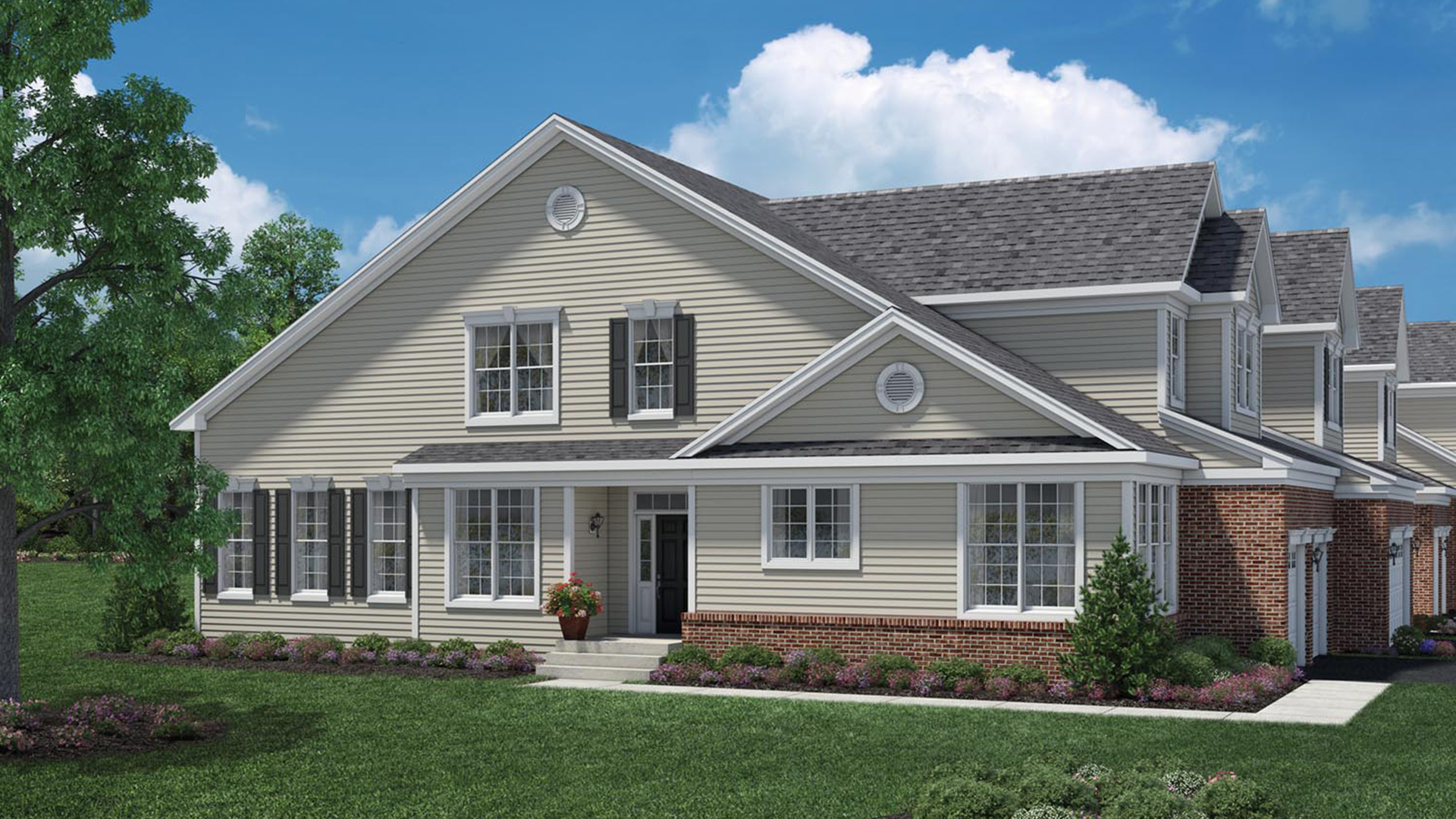 Bowes creek country club the townhome collection the for The country home collection