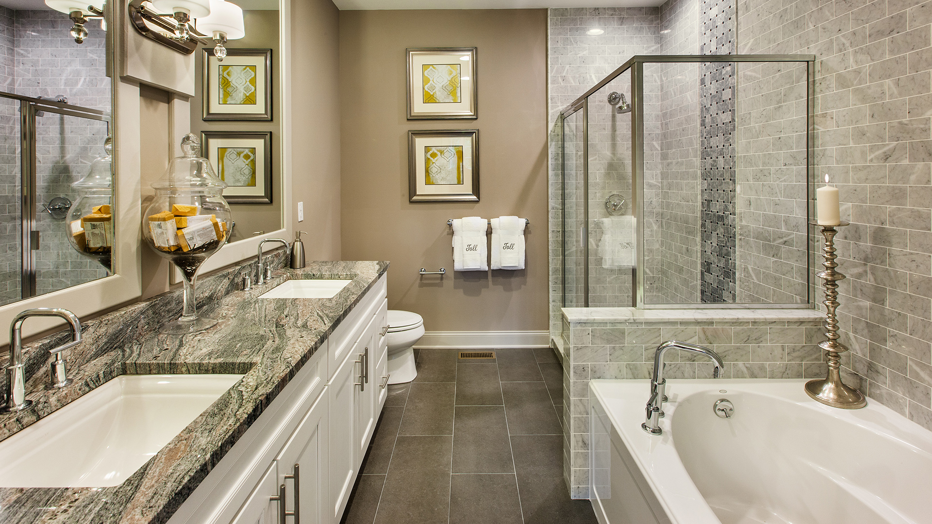 Toll brothers at valeria quick delivery home larchmont for Bathroom interior design photo gallery