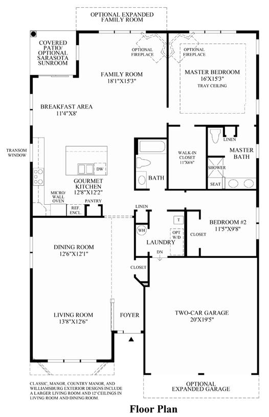 Lehigh - Floor Plan