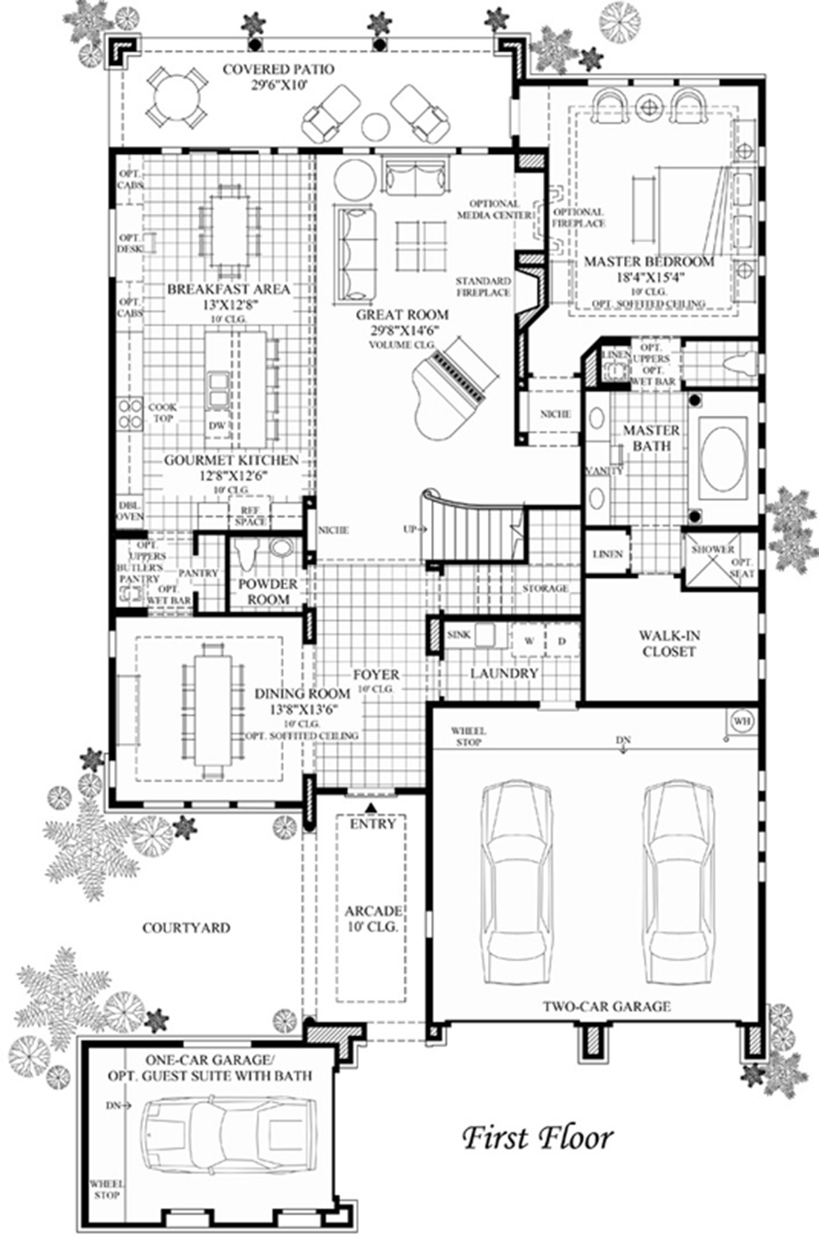 Lerida on Floor Plan Toll Brothers Scottsdale