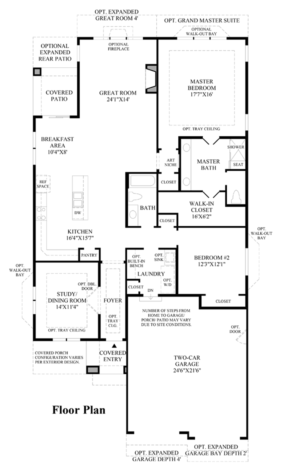 The retreat at kechter farm the lindsey home design for Design your own bedroom floor plan