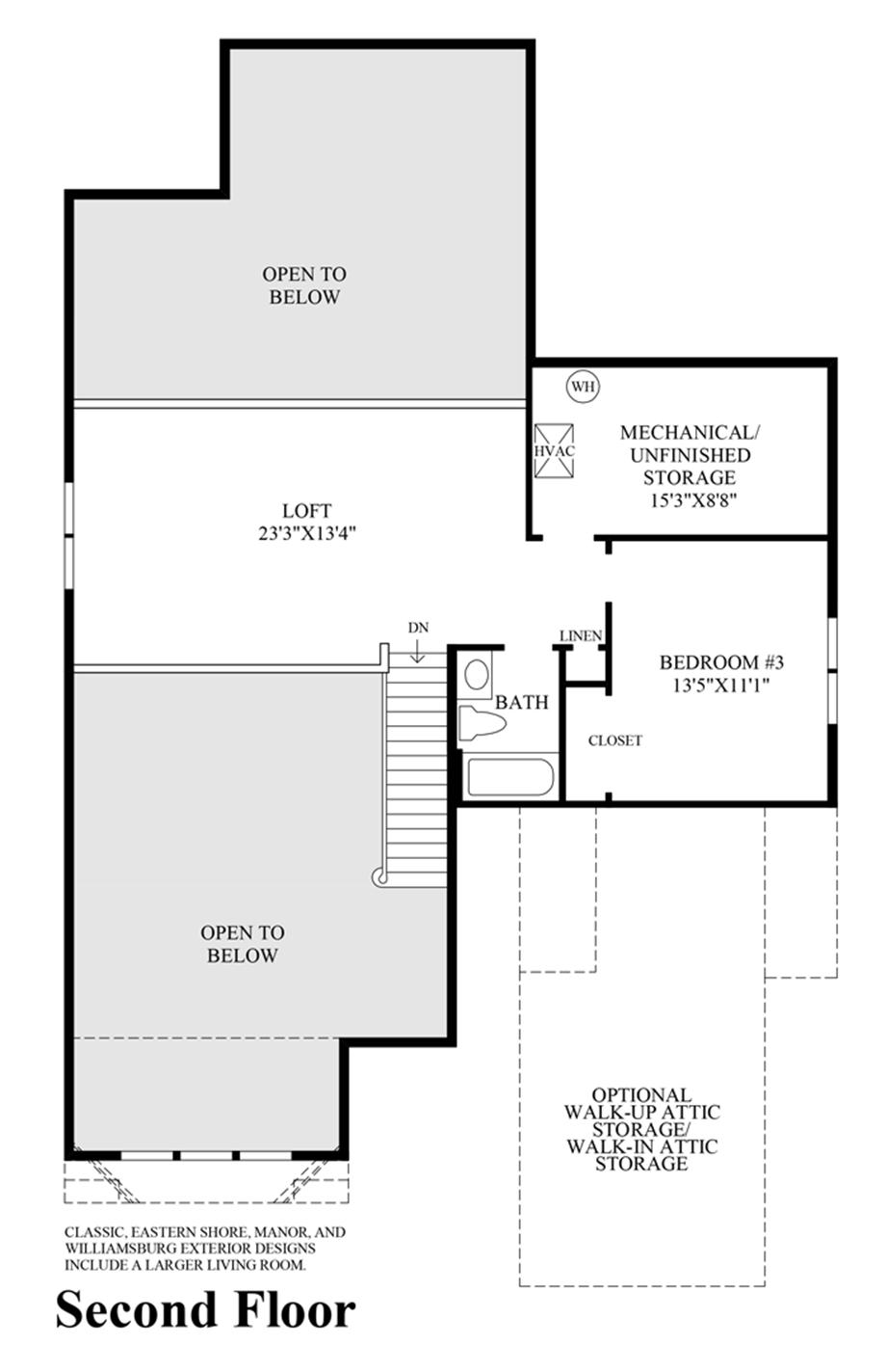 enclave at ocean the linwood home design