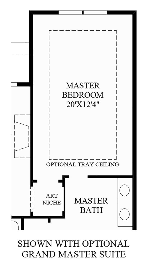 Optional Grand Master Suite