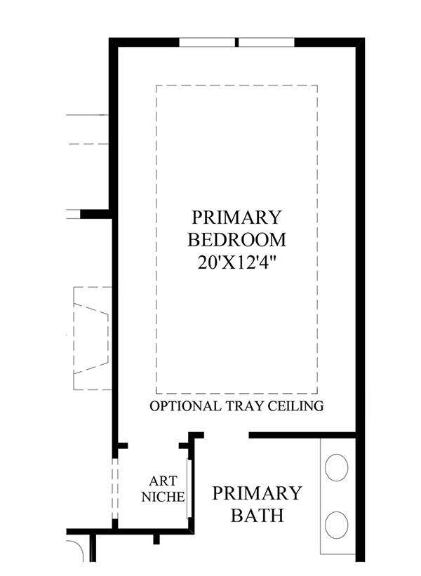 Optional Grand Primary Suite
