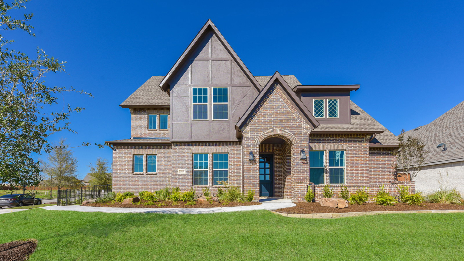 Appealing brick exterior