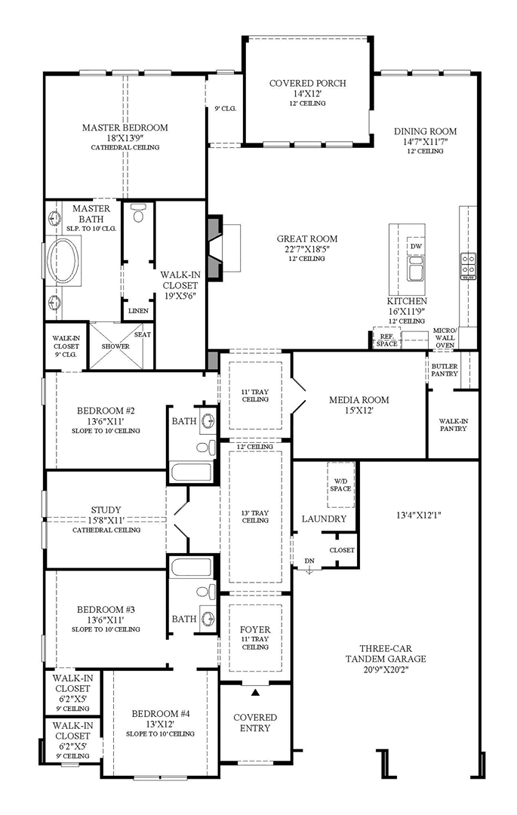 The Reserve At Katy The Trace The Loralai Home Design