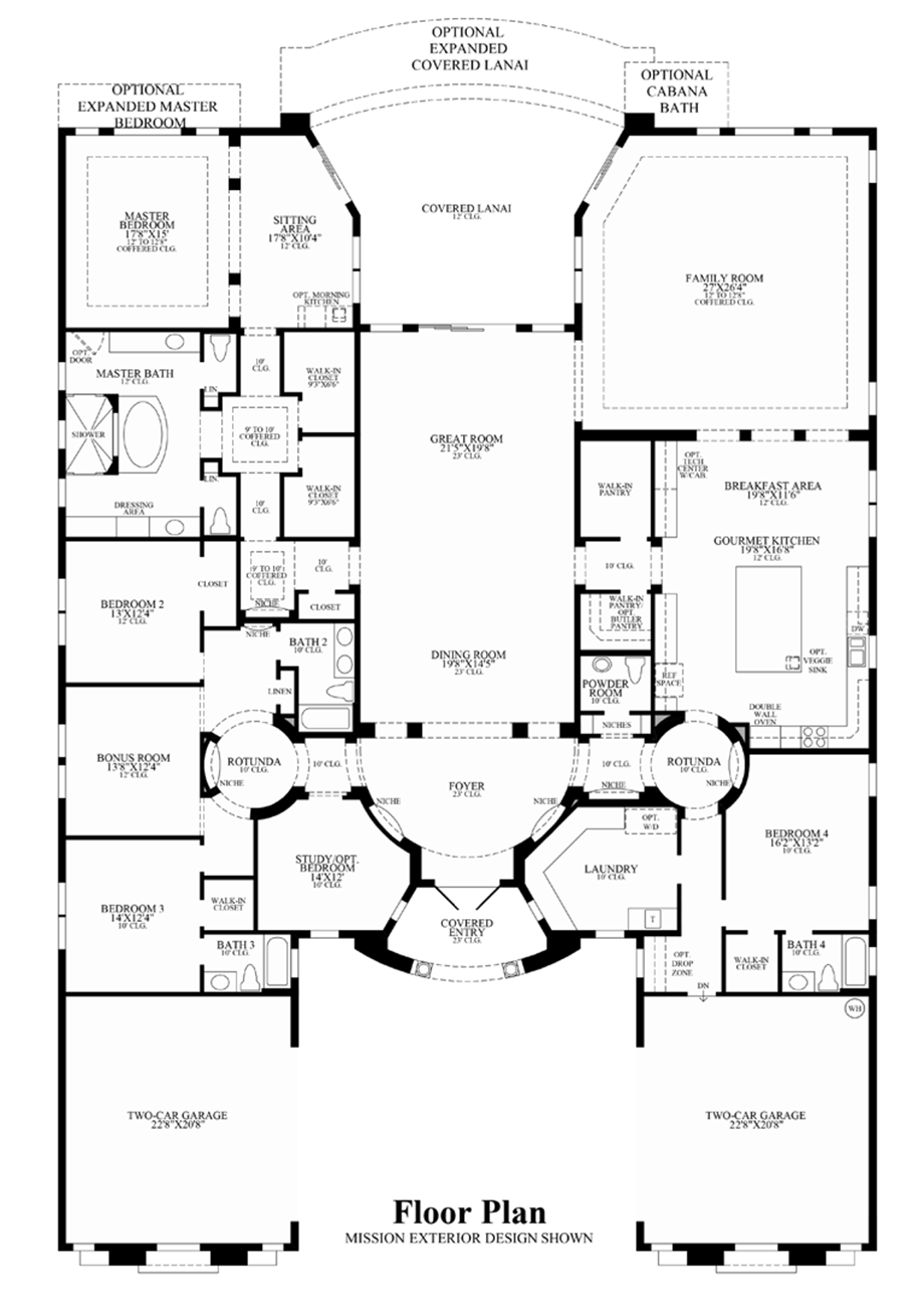 Royal palm polo by toll brothers quick delivery home Tuscan home floor plans