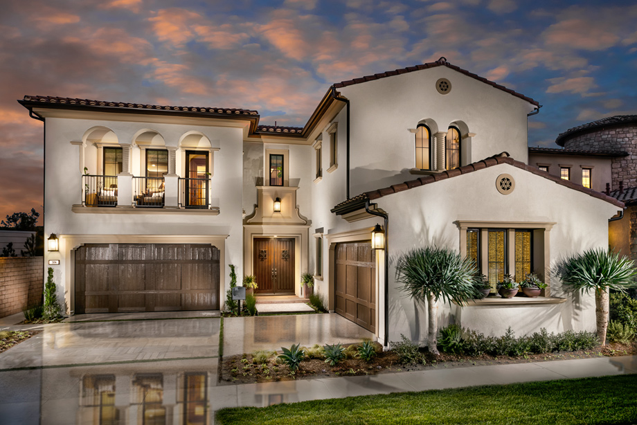 bella vista at orchard hills the lusso home design