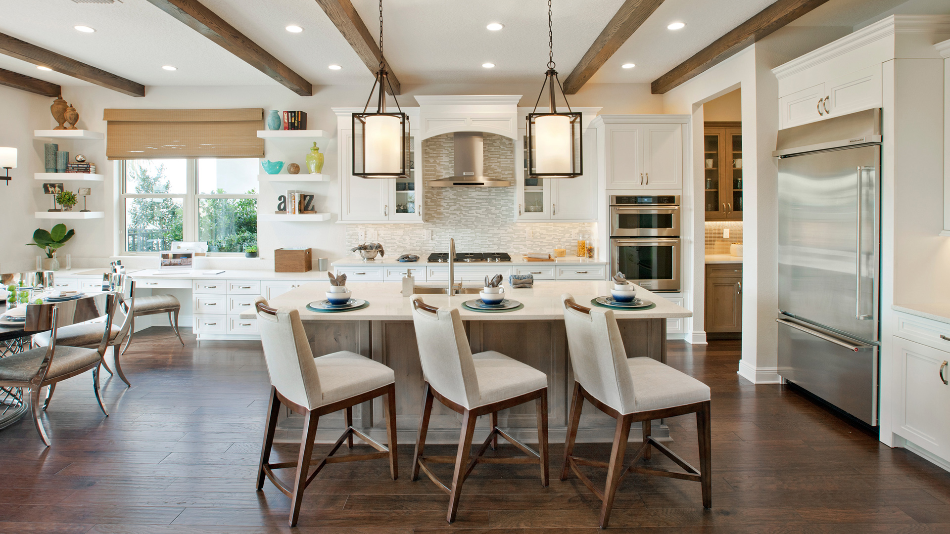Wonderful Kitchen Model Of The Madeira (FL) Home Design Available In Winter Garden, FL