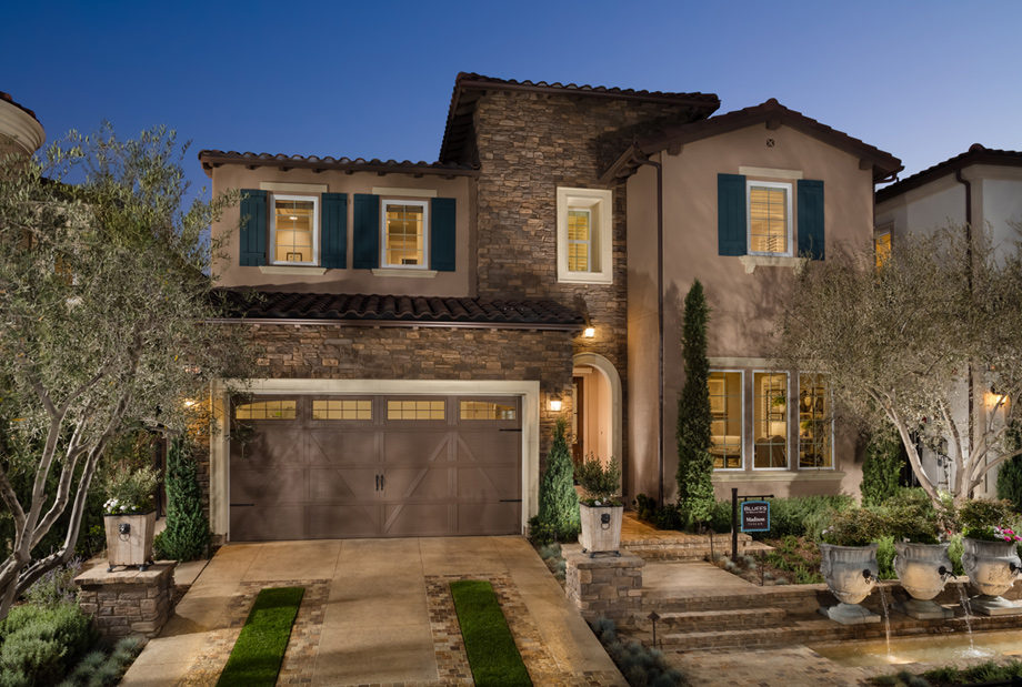 Porter ranch ca new homes for sale bella vista at porter for Tuscany model homes
