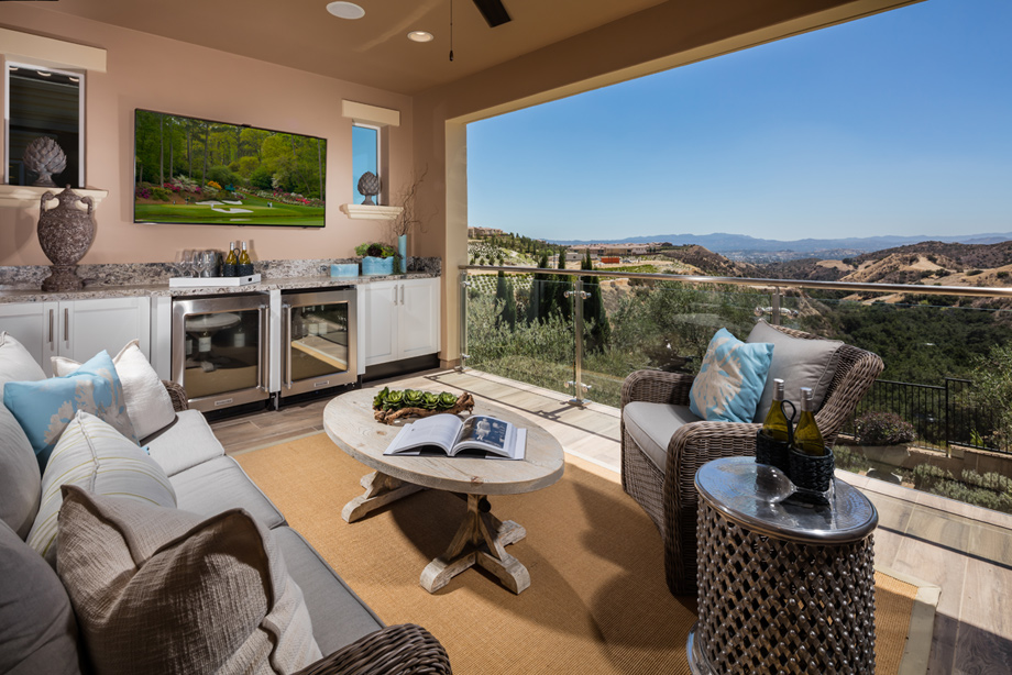 Porter Ranch Ca New Homes For Sale Bella Vista At Porter Ranch Bluffs Collection