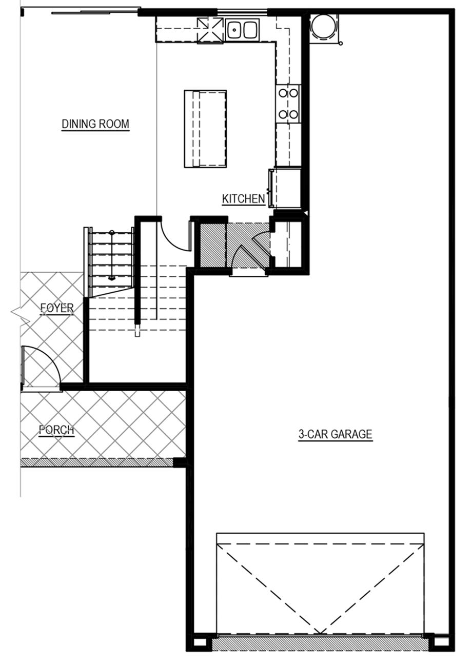 Optional 6 ft. Garage Increase Floor Plan