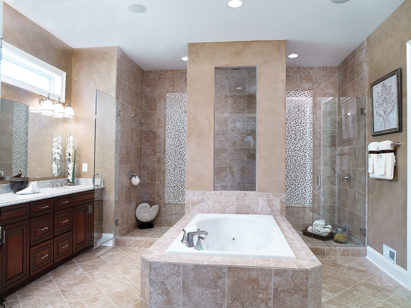 Bromley estates at weddington the magnolia home design for House plans with walk through shower