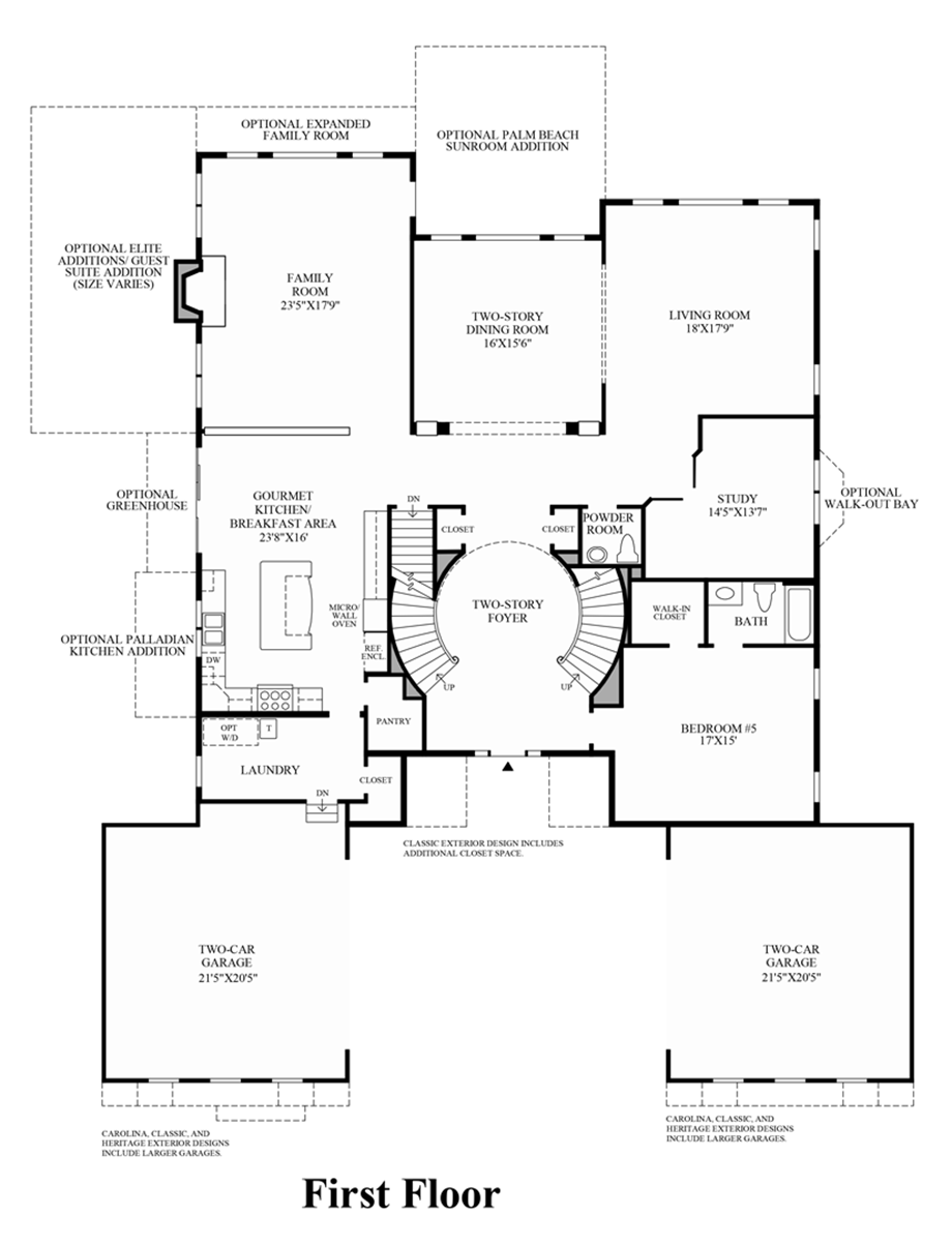Marlboro ridge the estates the malvern home design for Floor plans first