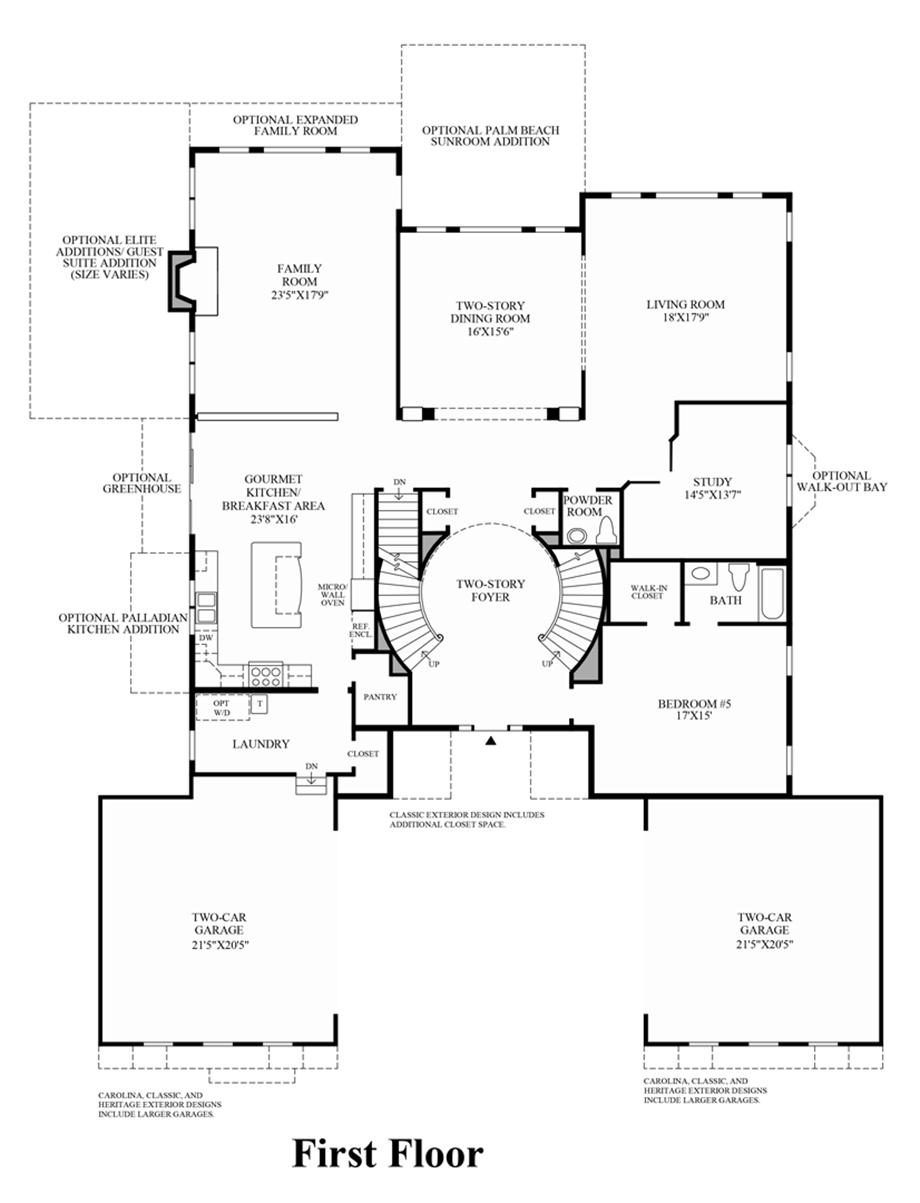 Marlboro Ridge The Estates The Malvern Home Design