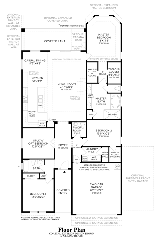 Julington Lakes - Floor Plan