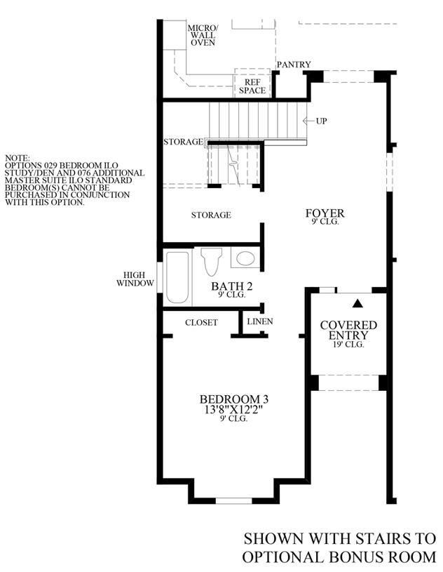 Julington Lakes - Optional Stairs to Bonus Room