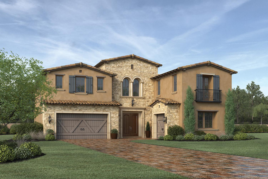Toll Brothers At Hidden Canyon Marbella Collection The Avalon Home