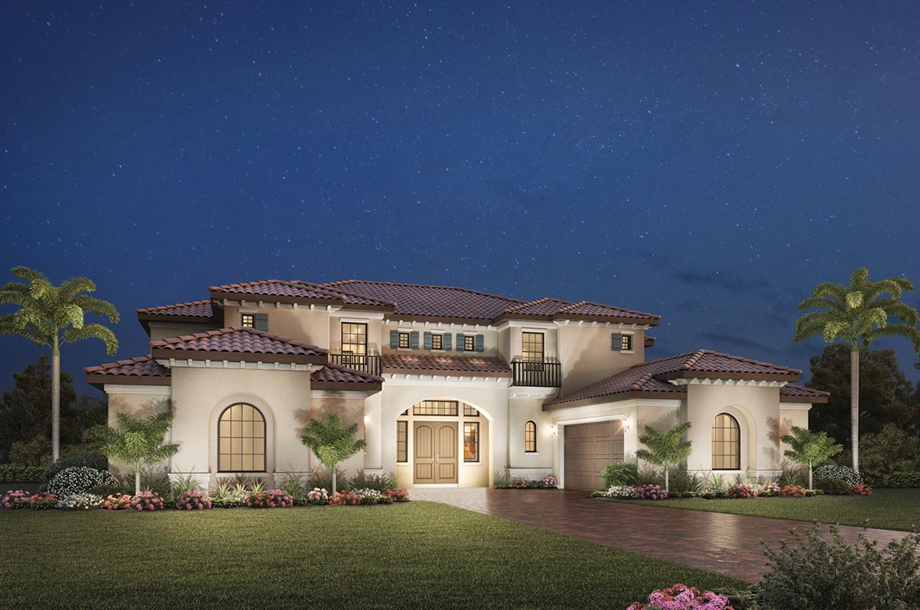 Casabella at windermere the marcello home design for Luxury houses florida