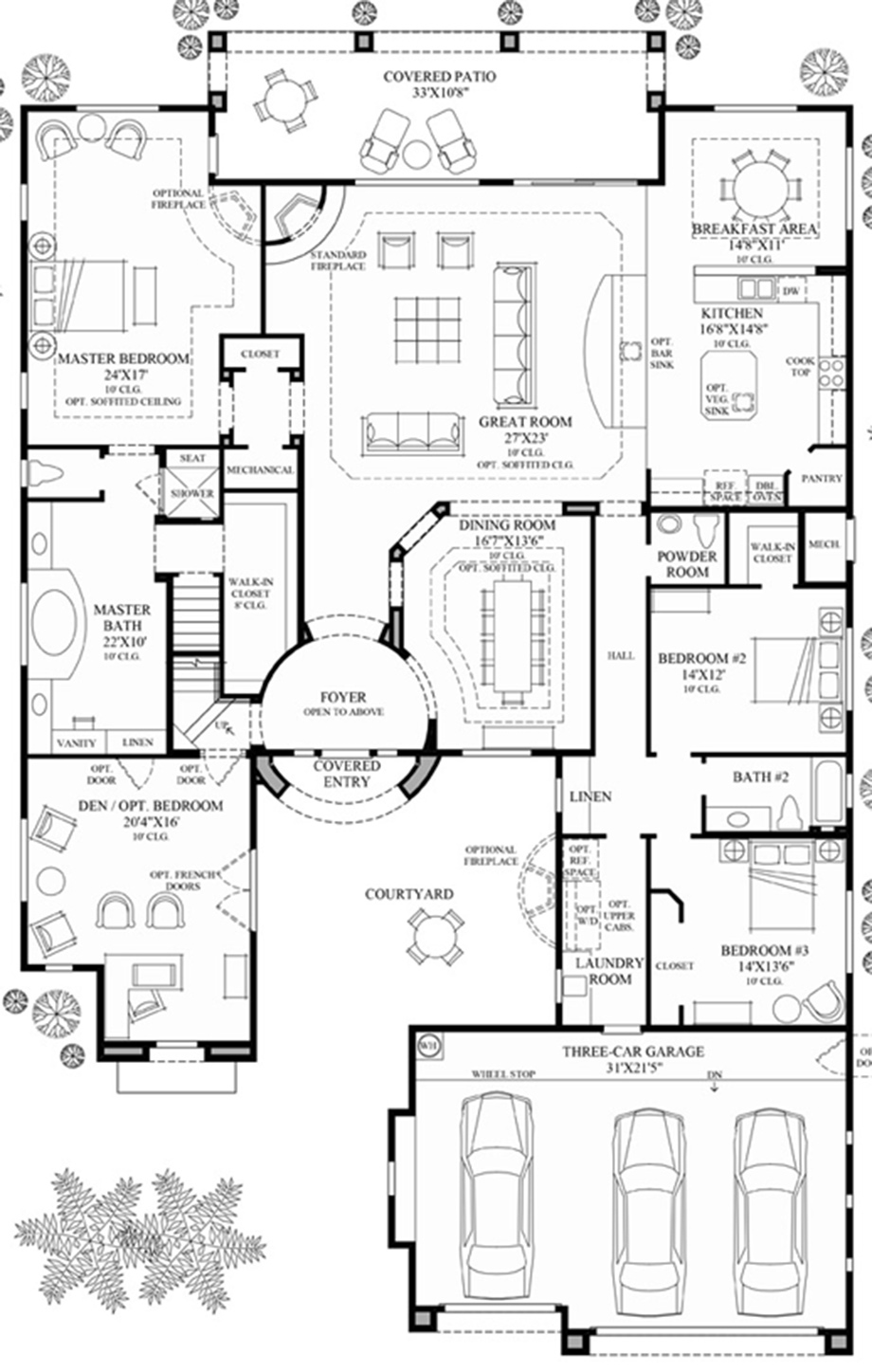 Windgate ranch scottsdale desert willow collection for Az house plans