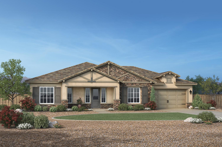 Regency at damonte ranch woodridge collection the for Ranch model homes