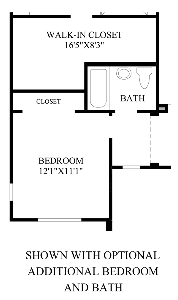 Optional Additional Bedroom &Bath